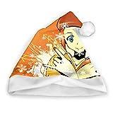 Sdltkhy Mugen Samurai Champloo () Frohe Weihnachten Süße Weihnachtsmann Lustige Partyhut Weihnachtsmützen Weihnachtsmütze Geschenke für Unisex Erwachsene