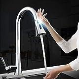 DKEE Kitchen Taps. Smart Touch Induktionsküchenauszug Wasserhahn Kupfer Heiß Und Kalt Wasserhahn