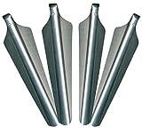 Norskskin 4 x Aluminium Schnee- und Sandhering Ultraleicht für Sand Strand Schnee