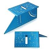 Holzbearbeitungsquadratische Winkelmesser-Aluminiumlegierungs-Messwerkzeuge for die Holzbearbeitung Metallbearbeitung