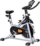 YOSUDA Indoor Cycling Bike stationär-Spin Bike - zyklus-Fahrrad mit ipad Mount & Bequeme sitzkissen, 35-Pfund-Schwungrad