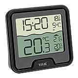 TFA Dostmann Marbella Funk-Poolthermometer, schwarz, L110 x...