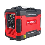 Matrix Inverter Stromgenerator mit USB, Benzin leise, 4...