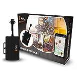 PAJ GPS Motorcycle Finder - GPS-Tracker Auto, Motorrad, Fahrzeuge und LKW´s, Motorrad-Peilsender als Diebstahlschutz - Direktanschluss KFZ-Batterie 9-75V