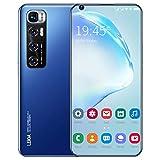 M11 Pro 3G Handy Android Smartphone 4-Coree Dual SIM Billig Smartphones 3 in1 Steckplatz 7,2-Zoll-Bildschirm 2GB RAM 16GB ROM Dreifache Kameras Gesicht Freischalten, Handy Fingerabdruck (B)
