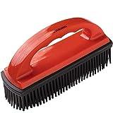 vitazoo Enthaarungsbürste zur Entfernung von Haaren für Textile, Oberflächen und Fahrzeugpolster - Bürste für Hundehaare, Teppichbürste, Tierhaarbürste, Gummibürste, Polsterbürste