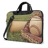 Baseball Laptop Hülle 14 Zoll stilvolle niedliche Neopren Notebook Handtasche