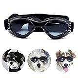 PEDOMUS Hunde Sonnenbrille Verstellbarer Riemen für...