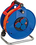 Brennenstuhl Garant IP44 Kabeltrommel (40m Kabel in orange, Spezialkunststoff, Einsatz im Außenbereich, Made in Germany)