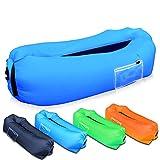 SUPTEMPO Aufblasbares Sofa, tragbarer Sitzsack Outdoor Wasserdichtes Luftsofa Air Lounger Luftcouch für Camping, Garten, Strand