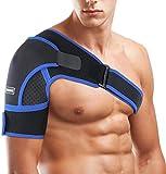 SGODDE Schulterbandage Verstellbare Schulter Unterstützung...