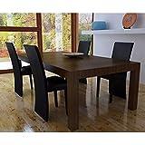 Esszimmerstühle, Wohnzimmerstuhl Küchen Esszimmer Stühle Bürostuhl Esszimmerstühle 4 STK. Schwarz Kunstleder