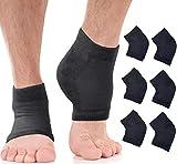 Feuchtigkeitsspendende Socken für Herren mit rissigen Fersen – behandeln Sie trockene Fersen schnell, Schmerzlinderung von rauen Füßen mit diesen großen Aloe-Lotion-Spa-Socken für (XL – 3 Paar).