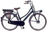 Amigo E-Pulse - Elektrofahrrad für Damen - E-Bike 28 Zoll - Damenfahrrad mit Shimano 3-Gang - Geeignet ab 175-180 cm - Blau