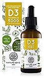 NATURE LOVE® Vitamin D3 5000 (50ml flüssig) -...