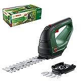 Bosch Akku Grasschere AdvancedShear 18V-10 (ohne Akku, 18-Volt-System, schneidet bis zu 85 m² pro Akkuladung, mit Strauch- und Grasscherenmesser, im Karton)