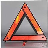 BYFRI 1PC Auto-Sicherheits-Warndreieck Kit Notfall-Pannenwarndreieck Auto-Rot-Stativ Gefaltete Stoppschild Reflector