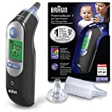 Braun Healthcare ThermoScan 7 Ohrthermometer mit Age Precision, IRT6520B