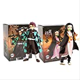 Anime Model Kimetsu No Yaiba Figur Tanjirou Nezuko The Dragon of Change Demon Slayer Anime Figur
