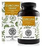 Curcuma Extrakt - Vergleichssieger 2020* - Curcumin Gehalt EINER Kapsel entspricht dem von ca. 15.000mg Kurkuma - Hochdosiert mit 95% Extrakt - Laborgeprüft, vegan, hergestellt in Deutschland