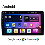 Doris GPS Navigationsgerät Für Auto, 9/10 Zoll Navigation Für 2GB 16GB Touchscreen Navi Mit Sprachführung Fahrspur, Freisprechen, Fahrspurassistent, Updates Über Wi-Fi