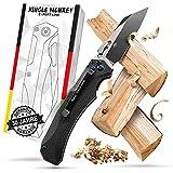 Bullhead Klappmesser einhandmesser – NEUHEIT patentierter Druckverstärker - ink. Geschenkbox - perfekt als Survival & Outdoor Messer, Jagdmesser