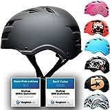 Skullcap® BMX Helm - Skaterhelm - Fahrradhelm - Herren | Damen | Jungs & Kinderhelm Gr.L (58 - 61 cm), Dark World