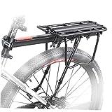 Fahrrad-gepäckträger Fahrrad Removable Pannier Träger Zahnstangen-Halter Verstellbare High Capacity Fahrradträger-Rack Für Mountainbike Rennrad-Rack