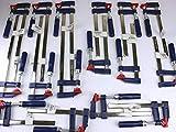 16 x Schraubzwinge Set 150x50 + 200x50 + 300x50 Zwinge...