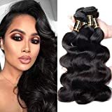 Yavida Mink Brazilian Hair Bundles Body Wave Yavida Remy Human Hair Weave Bundles Soft Wavy Weft 14 16 18 Inch Natural Black