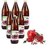 Mynatura Granatapfel 100% naturtrüber Direktsaft   Muttersaft   Ohne Zucker 6L