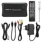 Bicaquu Akku sparen 1080P HD Audio Video Player HDMI- und AV-Ausgänge Praktische USB-Host-Funktion(European regulations)