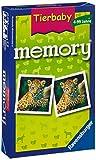 Ravensburger 23013 - Tierbaby Memory, der Spieleklassiker für Tierfans, Merkspiel für 2-8 Spieler ab 4 Jahren