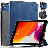 GHC PAD Hüllen und Hüllen für iPad 10.2 7. 8. Generation 2019 2020, Folio Flip Funda Tablet Smart Case für iPad Mini 4 5 für iPad 9,7 Zoll 2017 2018 (Farbe: Blau, Größe: für iPad Mini 4 5)