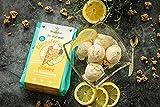 Eiszauber ZITRONE I Eismischung mit Premium-Zutaten, glutenfrei & ohne Lactose I Super leckere Eiscreme zum Selbermachen - auch ohne Eismaschine I Eispulver ohne Zuckerzusatz