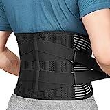 FREETOO Rückenbandage mit Stützstreben Verstellbare...