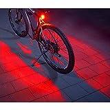 FISCHER Twin Fahrrad-Rücklicht mit 360° Bodenleuchte für...