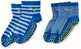 PUMA Kinder Baby Sock ABS 2P , Blue Green Combo 634 , 23-26
