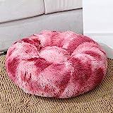 ZwingerLuxus Soft Plüsch Hundebett Runde Donut Schlafliege Pet Kennel House Katzensofa-C13_Sie ist 40cm groß