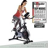 Sportstech Indoor Speedbike SX200 Sportgerät für Zuhause   Deutsches Qualitätsunternehmen + Video Events & Multiplayer APP   Hometrainer für Fitness   Heimtrainer-Fahrrad mit 22KG Schwungrad
