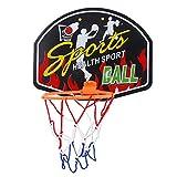 Basketball-Backboard und Reifen-Set Indoor Basketball Netball Hoop Mini Basketball Board Kinder Geschenke (Color : A)
