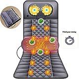 G-FLOOR-MAT Vibrationsmassage Sitzkissen Für Rückenmassagegerät, Massagekissen Massagematte Home Massagestuhl Mit Wärmefunktion