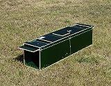 Jagdfallen Steingraf 120x30x31 Waschbärfalle lebend, Katzenfalle,Kastenfalle,Lebendfalle, Tierfalle, Marderfalle grün#130#