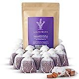 Lavendas 10 x Lavendelsäckchen & Zedernholz Set   Duft für Kleiderschrank   Entspannung & Einschlafen   Natürlicher Mottenschutz gegen Kleidermotten   Duftsäckchen 120g Lavendel
