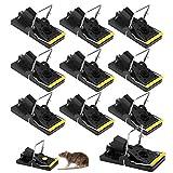 Nasharia Mäusefalle, Schlagfalle Profi Rattenfalle 10 Pack Effektive Mäusefallen Schnappfalle Nagetierbekämpfung Mausfänger Einfach Wiederverwendbare Mäusemörder Mäusefallen