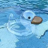BOBOLover Schwimmring Poolsessel Aufblasbar Schwimmsessel,Summer Beach Aufblasbare süße Form Schwimmring Pool River Beach Floating 70 x 50 x 44 cm Geeignet für 2-6 Jahre