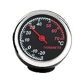 Winomo Auto-Thermometer Stahl klein mit Zeiger für den...