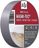 Kip Tape 209-23 Washi-Tec – Dünnes Abdeckband aus Spezial-Washi-Papier für randscharfe Farbkanten – Malerkrepp zum Streichen & Lackieren auf empfindlichen Untergründen – 24mm x 50m