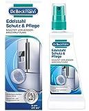 Dr. Beckmann Edelstahl Schutz und Pflege   Reinigt, pflegt und bildet einen effektiven Schutzfilm   Anti-Finger-Print-Effekt (40 ml)