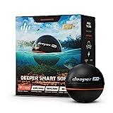 Deeper PRO PLUS smart Fischfinder – kabelloser W-LAN Fischfinder mit eingebautem GPS für Ufer Angler